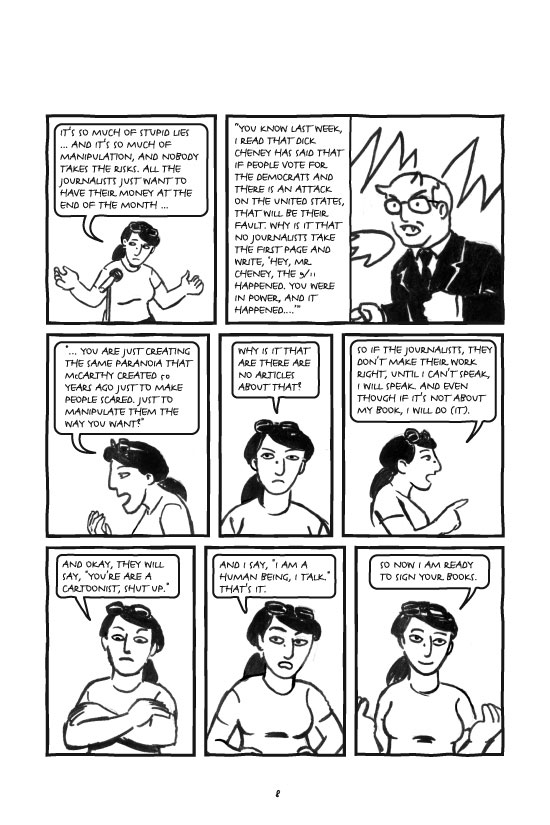 Stripped Books Persepolis 2 1 The Story Of A Signing